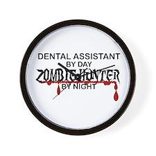 Zombie Hunter - Dental Asst Wall Clock