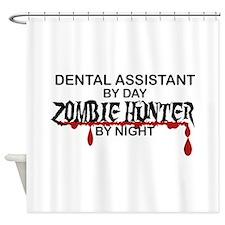 Zombie Hunter - Dental Asst Shower Curtain