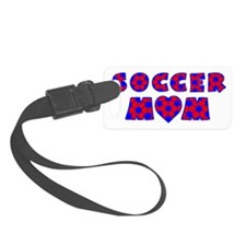 wh red blue, Mom Luggage Tag