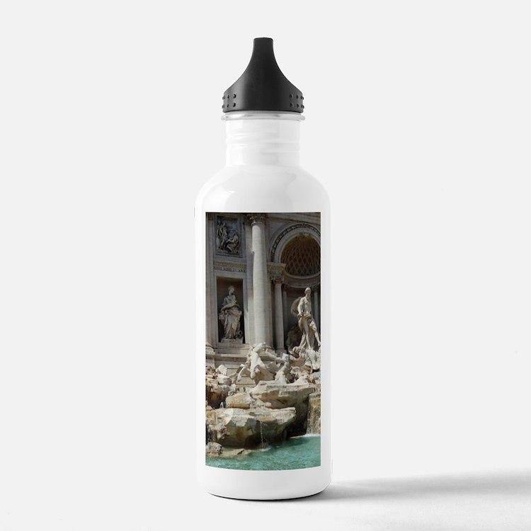Italy, Rome. Trevi Fou Water Bottle