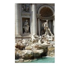 Italy, Rome. Trevi Founta Postcards (Package of 8)