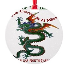 Tail of the Dragon 318 Curves in 11 Ornament