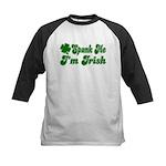 Spank Me I'm Irish Kids Baseball Jersey