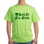 Spank Me I'm Irish Green T-Shirt