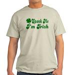 Spank Me I'm Irish Light T-Shirt