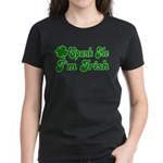Spank Me I'm Irish Women's Dark T-Shirt