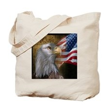 We The People Eagle Flag Tote Bag