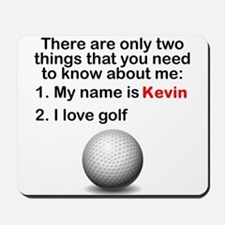 Two Things Golf Mousepad