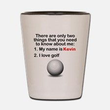 Two Things Golf Shot Glass