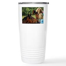 Enniskerry. Horse encounter nea Travel Mug