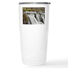 Waterfall, Iceland Travel Coffee Mug