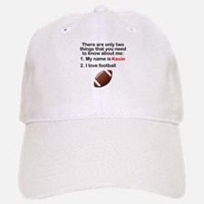 Two Things Football Baseball Baseball Cap