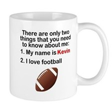 Two Things Football Mugs