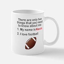 Two Things Football Mugs