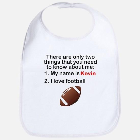 Two Things Football Bib