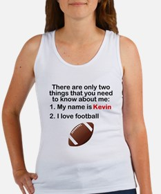 Two Things Football Tank Top