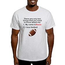 Two Things Football T-Shirt