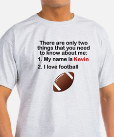 Two Things Football T-Shirt