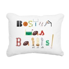 BostonHasBalls Rectangular Canvas Pillow