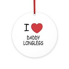 DADDYLONGLEGS Round Ornament