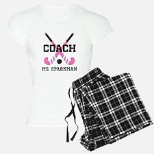 Personalized Hockey Coach Pajamas