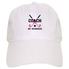 Personalized Hockey Coach Baseball Baseball Cap