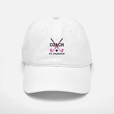 Personalized Hockey Coach Baseball Cap
