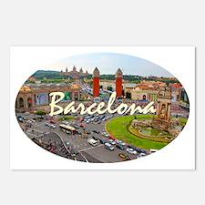 Barcelona_4.58x2.91_tmug_ Postcards (Package of 8)