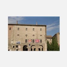 Pilotta Palace, Parma, Emilia-Rom Rectangle Magnet