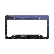 Italy, Sicily, Taormina. View License Plate Holder
