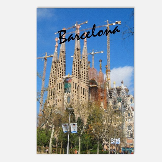 Barcelona_5.5x8.5_Journal Postcards (Package of 8)