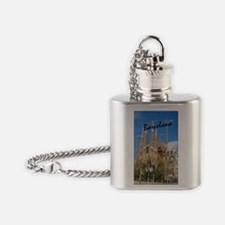 Barcelona_5.5x8.5_Journal_LaSagrdaF Flask Necklace