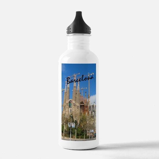 Barcelona_5.5x8.5_Jour Water Bottle