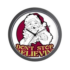 Dont Stop Believin Wall Clock