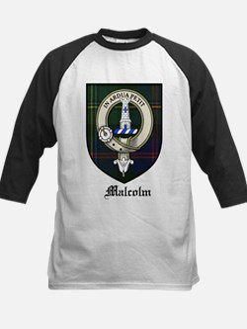 Malcolm Clan Crest Tartan Tee