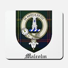 Malcolm Clan Crest Tartan Mousepad