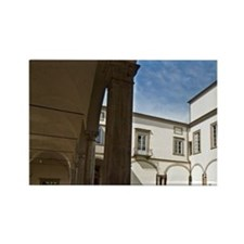 Real Collegio Palace, Lucca, Tusc Rectangle Magnet