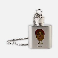 Turkey Bite Me Flask Necklace