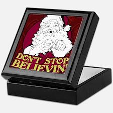 Dont Stop Believin poster Keepsake Box