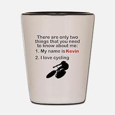 Two Things Cycling Shot Glass
