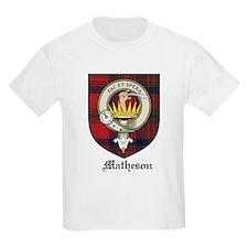Matheson Clan Crest Tartan Kids T-Shirt