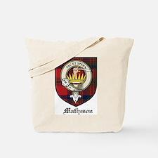 Matheson Clan Crest Tartan Tote Bag