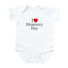 """I Love Monterey Bay"" Infant Bodysuit"