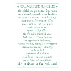 Permacultue Principles Postcards (8)