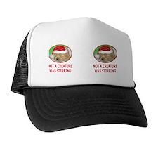 Golden Retriever Puppy Christmas Mug   Trucker Hat