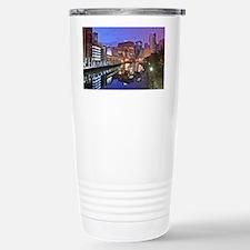 The Chicago River Travel Mug
