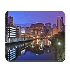 The Chicago River Mousepad