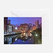 The Chicago River Greeting Card