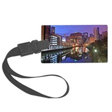 The Chicago River Luggage Tag