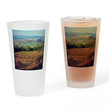 Vineyards frame the charming hillto Drinking Glass